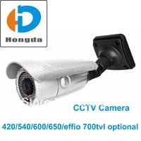 "NEW 1/3"" Sony Color CCD Surveillance Security CCTV Video Camera 700TVL 4-9mm varifocal lens 42pcs LED IR Distance 40M Free ship"