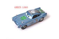 freeshipping !! Green logo ! Pixar Cars 2 Finn McMissile Olympic version Diecast