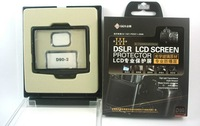 Free shipping + tracking number GGS D90 Professional LCD protection screen for NIKON D90