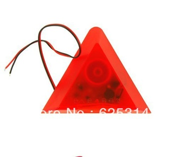Triangle Strobe light Siren with flash Alarm Speakers Horn Security