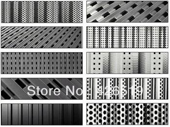 Stainles Steel/ Galvanised Perforated Metal Sheet