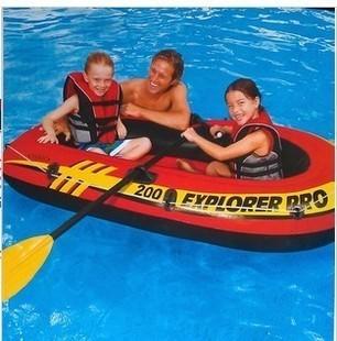 Intex58331 ship inflatable fishing boat paddle pump