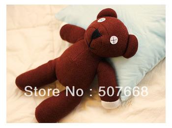 "Mr Bean TEDDY BEAR 9"" Stuffed Plush Toy Mr.Bean plush Mr.Bean plush Fashion plush doll EMS Free shipping"