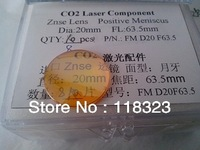 UPS Free Delivery Top Quality CO2 Laser Focus Lens, ZnSe Lens, Laser Machine Accessory, Focal 63.5