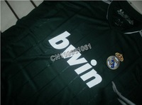Ronaldo #7 Real Madrid Third Green Soccer Jersey 12/13 ,Thailand Quality Soccer Jersey+Embroidery Logo football Jersey