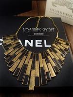 A113 accessories fashion female necklace short design vintage fan shaped glaze necklace female