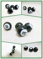 Free shipping!(4PCS)  Pool 8 Tire Valve Cap .car tyre valve cap ,ABS