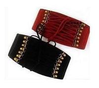 P38 element fashion tassel rivet snap button elastic strap decoration belt cummerbund waist decoration female 78