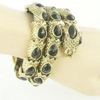 Fashion Personality High Quality Multi-circle Bracelet Vintage Snake Design Bangles 2013 Hot Sales