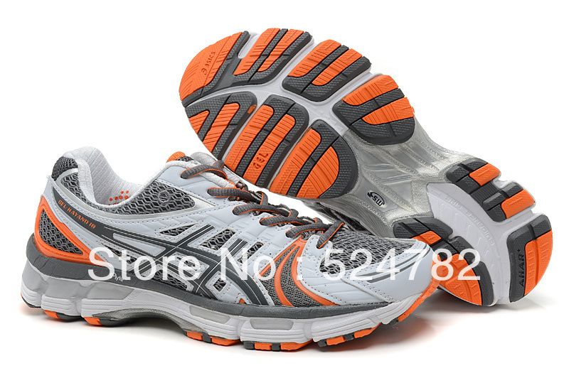Free shipping,2013 new style Nimbus 14 Running Shoes, Gel Kayano 18 Running Shoes GEL Cheap sale men's athletic shoes,(China (Mainland))