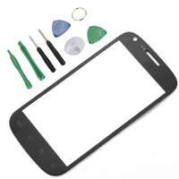 Front screen Outer Glass Black Lens for Samsung Galaxy S BLAZE 4G SGH-T769 Black