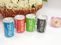 W123 Cartoon Coke Bottle Canned Mini Wet Tissue Smoke 30 Barreled Wet Wipe Portable Free Shipping