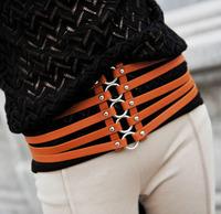 Circusy p81 stunning elastic women's cummerbund wide belt fashion 123g