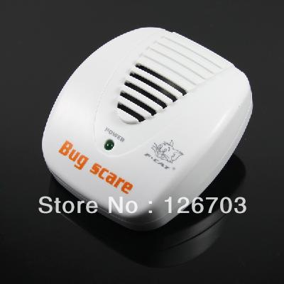 EU Plug Ultrasonic Electrical Mouse Rat Pest Repeller Smart Bug Scare Item(China (Mainland))