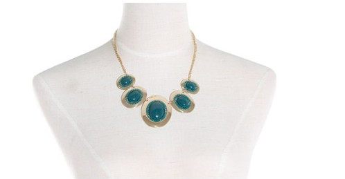 NO. 7871 in Europe and the stone color necklace(China (Mainland))
