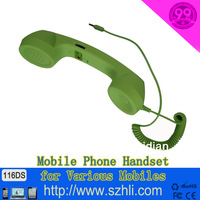 116DS 2013 hot sale free shipping! retro anti-radiation pop phone general telephone handset with volume control