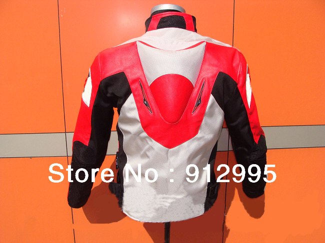 2013 new style red mens oxford motorcycle jacket motorbike riding suit with size s to xxxl free shipping 4 colors(China (Mainland))