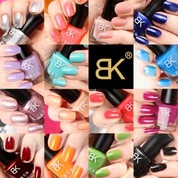 Bk nail polish oil eco-friendly nail art pink candy color 8ml