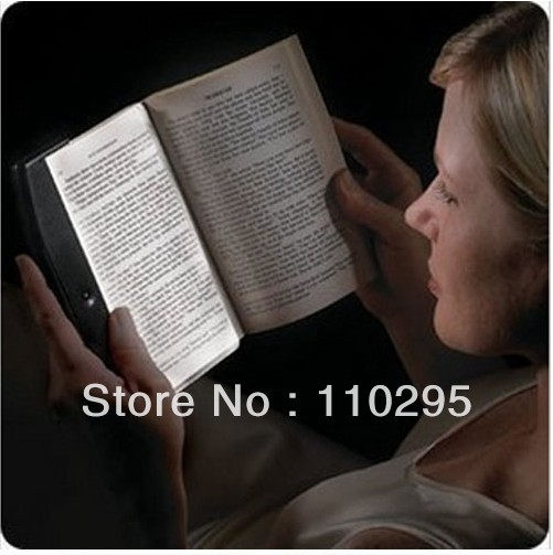 New creative reading book lightwedge LED magic night lamp bookmark light eye-protection lamps free shipping wholesale(China (Mainland))