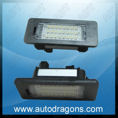 Auto E39 license lamp ligting(China (Mainland))