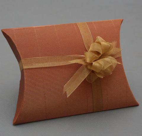 Free shipping wholesale 40pcs/lot Pillow shaped Import Corrugated Paper Gift Box for tie , scarf 20*20*6cm mix 6 colors(China (Mainland))