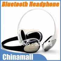 High Quality Wireless Headband Bluetooth Stereo Headphone Headset Earphone For iPhone 4 4S 5 HTC Free Shipping Drop Shipment