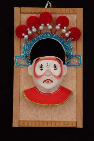 China peking opera clown door trim hangings wall hangings entranceway doll(China (Mainland))
