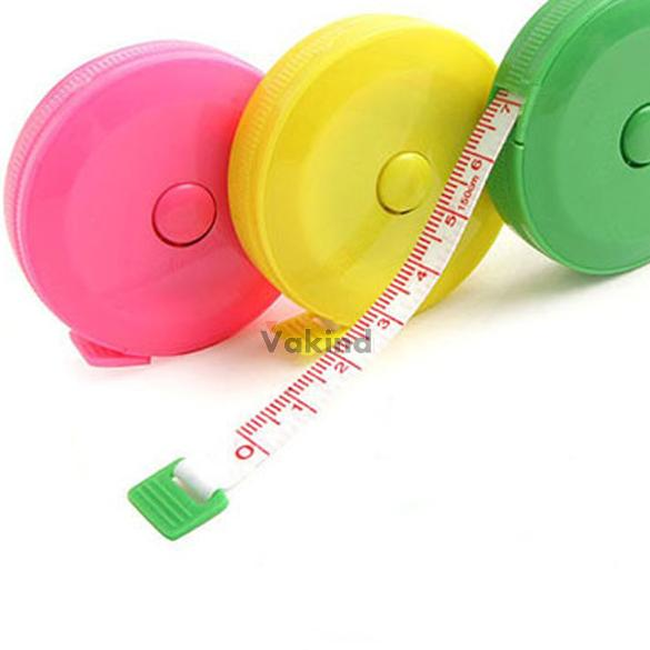Sewing Retractable Ruler Tape Measure 1.5M 60 Inch W BS1V(China (Mainland))