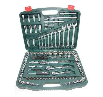 120pc Metric socket set auto repair tool car tool to follow the family