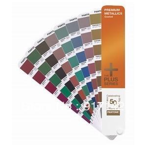 pantone color 2013 American international standards PANTONE color card - PANTONE GG1405 senior metal color card(China (Mainland))