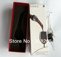 Fedex  free Shipping+Wholesale 80 pcs, NEW  package Aerating Pourer,Wine pourer,Wine Aerator,Red Wine Essential Tool