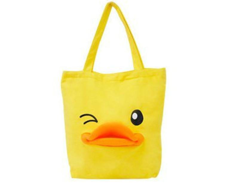 Duck bag duck bags three-dimensional canvas single shoulder bag duck beauty jiada had bags(China (Mainland))