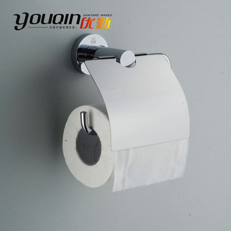 Bathroom bathroom hardware stainless steel towel rack roll holder thickening base 6600(China (Mainland))