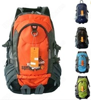 Waterproof Backpack Shoulders Hiking Travel Bag Mountaineering Rucksack