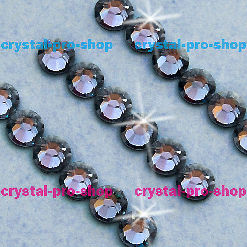 ss16 GENUINE Swarovski Elements Denim Blue ( 266 ) 144 pcs ( NO hotfix Rhinestone ) Clear Crystal 16ss 2058 FLATBACK Glass Bulk(Hong Kong)