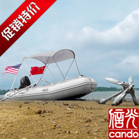Rubber inflatable boat Rubber boat inflatable boat 3 4 5 6 folding boat anchor fitted anchor