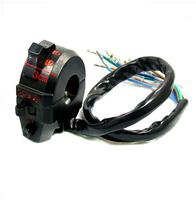 "Universal DC 12V Scootor Motorcycle ATV Turn Signal/Horn/Head Light 7/8"" Handlebar Switch"