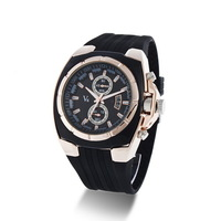 Quartz watch KK015 Black Belt in Phnom Penh gift