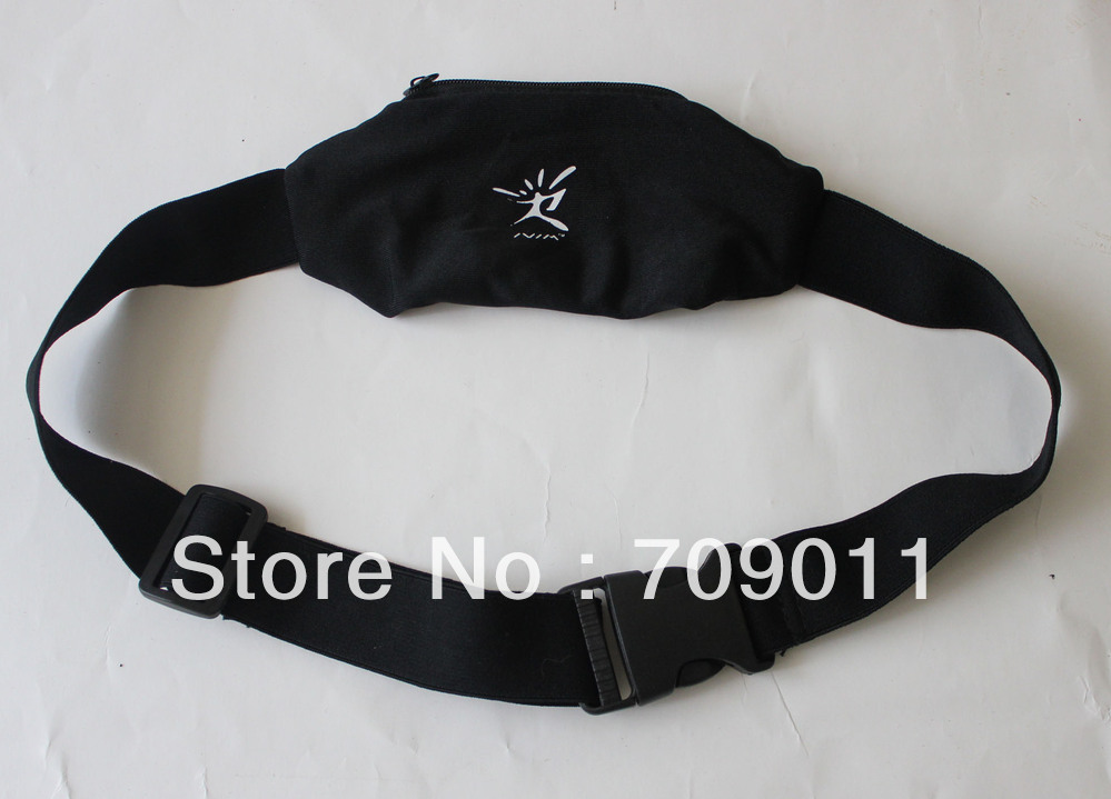 2013 New product 10pcs/1 Lot Stylish black running belt ,Neoprene Waist Pack ,waist bag for sale or wholesale(China (Mainland))