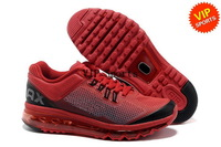 Wholesale Hot Sale Air 2013 Runner Sunrise Men's Sports Running Shoes (team red / black)
