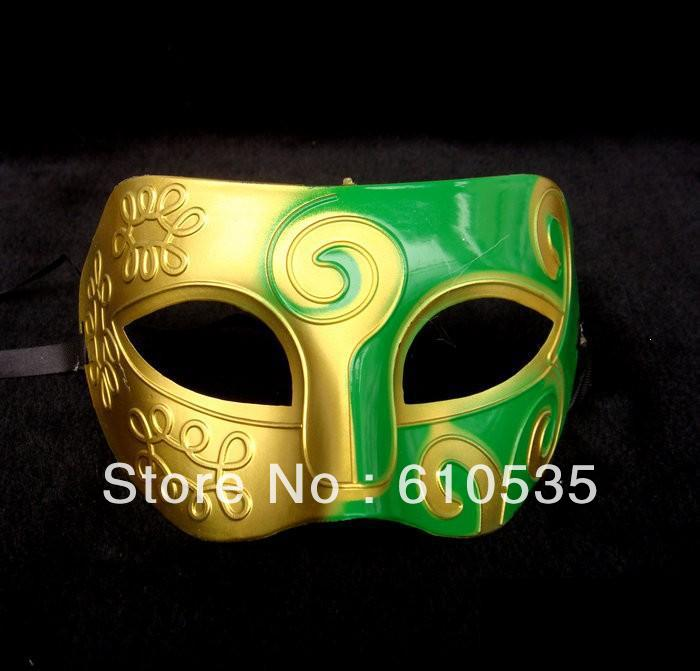100pc jazz Mens Mask Halloween Masquerade Masks Venetian Dance party Mask Free Shipping#H35(China (Mainland))