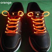 40pcs/lot(20 pairs)  Colorful Fiber Optic LED Flashing shoe lace Light up Flash shoelace shoe laces OPP bag packing 1st Gen.