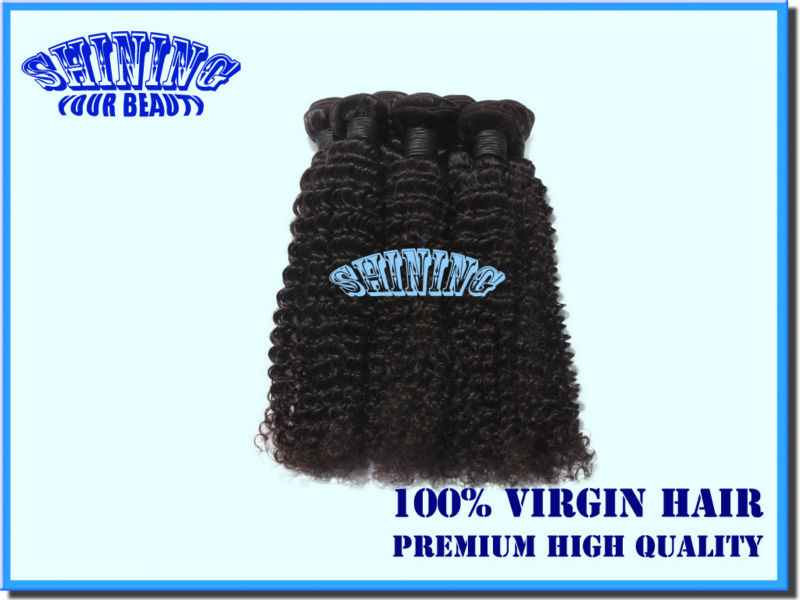 "Top Quality 100% Virgin Malaysian Hair deep wave 12""-28"" 100g/pc free mix lengths can dye color good quality remy hair extension(China (Mainland))"