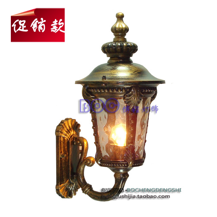 Fashion outdoor wall lamp waterproof exterior lights outdoor the door lamp quality balcony lights exquisite 214b(China (Mainland))