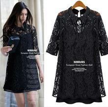 popular black lace dresses