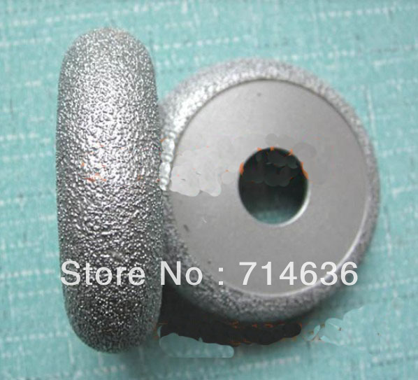 1pcs 70mm diamond braze edge grinding wheel for stone glass ceramics cam angle grinder(China (Mainland))