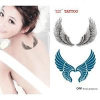 Tattoo stickers personalized fashion wings - star waterproof