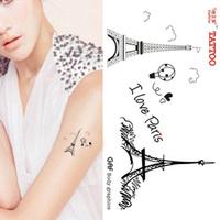 Tattoo stickers fashion waterproof female -
