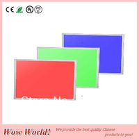 Colorful RGB LED panel light 600*1200mm, 48W, AC85~265V input, SMD5050 chip, with RGB controller, CE ROHS PSE certificated