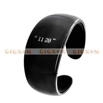 Mobile Phone Bluetooth - Fashion Bracelet with Speaker Microphone Time Caller ID Display Vibration